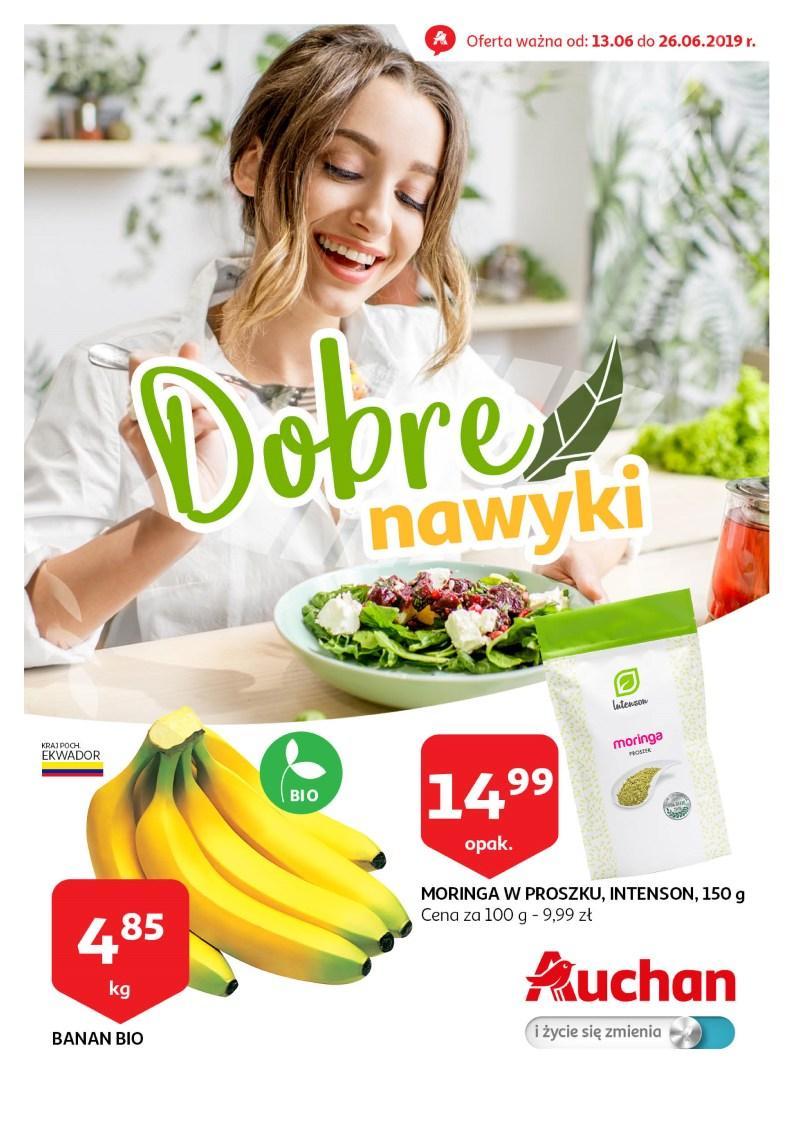 Gazetka promocyjna Auchan do 26/06/2019 str.1