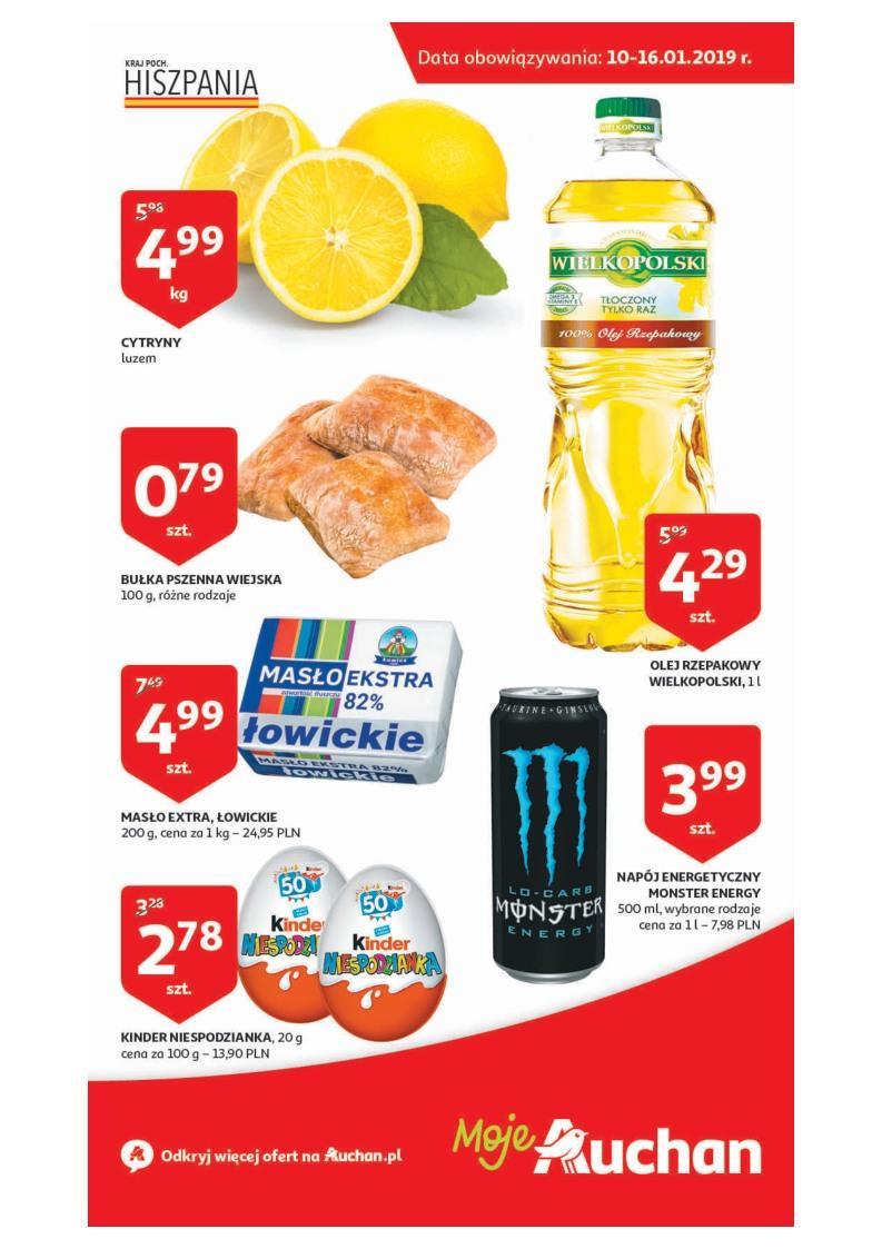 Gazetka promocyjna Auchan do 16/01/2019 str.1