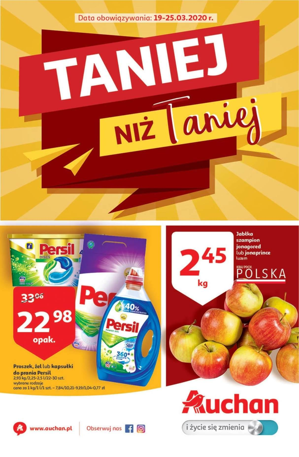 Gazetka promocyjna Auchan do 25/03/2020 str.1