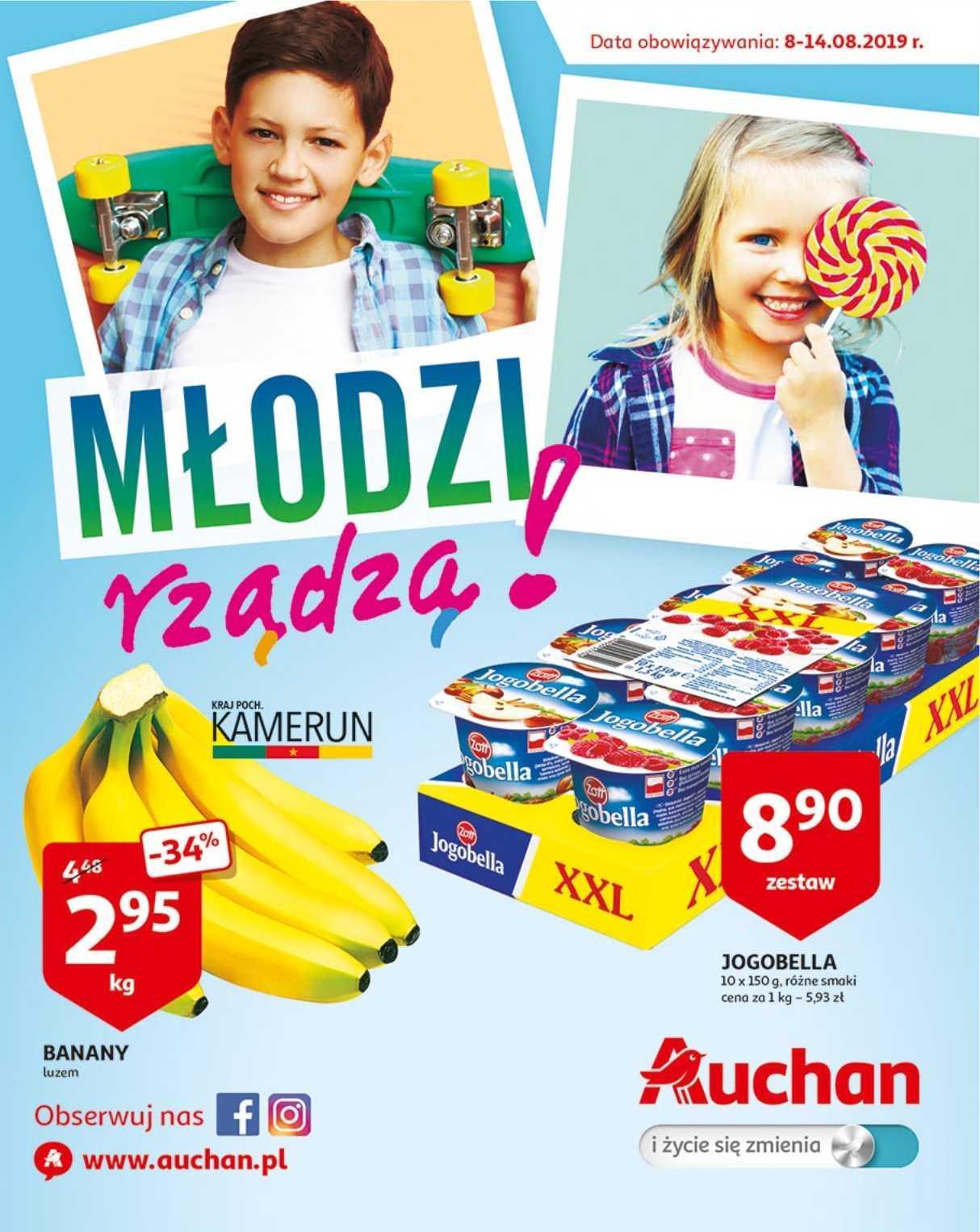 Gazetka promocyjna Auchan do 14/08/2019 str.1