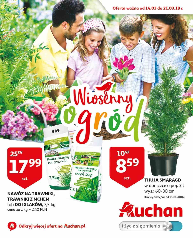 Gazetka promocyjna Auchan do 21/03/2018 str.0