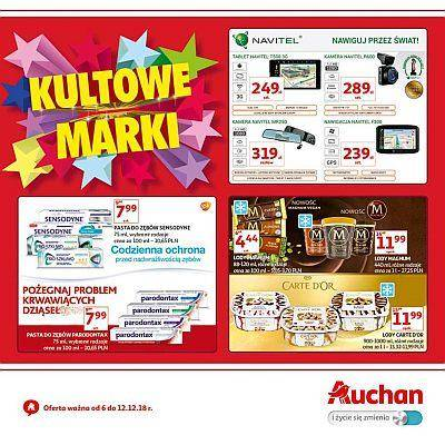 Auchan gazetka - od 06/12/2018 do 12/12/2018