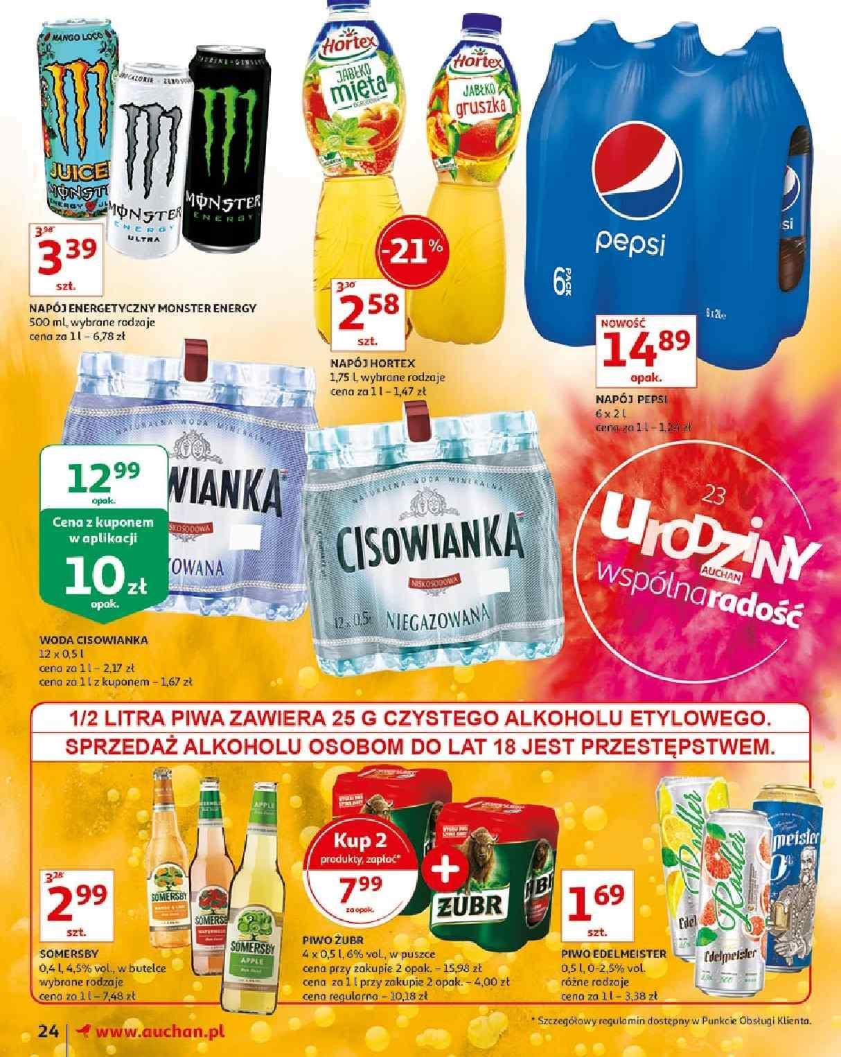 Gazetka promocyjna Auchan do 15/05/2019 str.24
