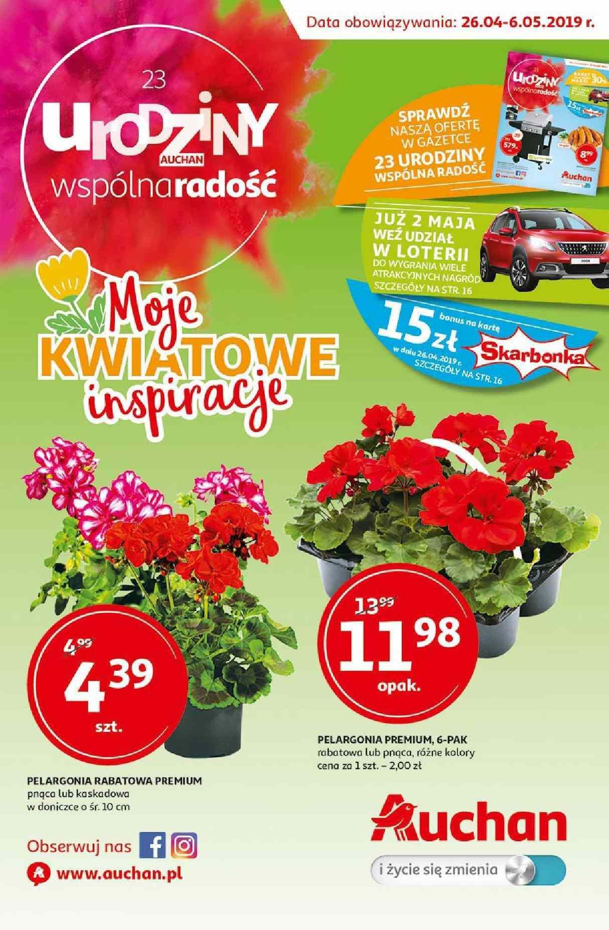 Gazetka promocyjna Auchan do 06/05/2019 str.0