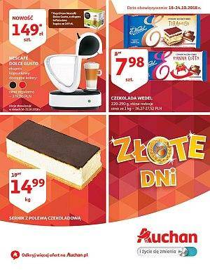 Auchan gazetka - od 18/10/2018 do 24/10/2018