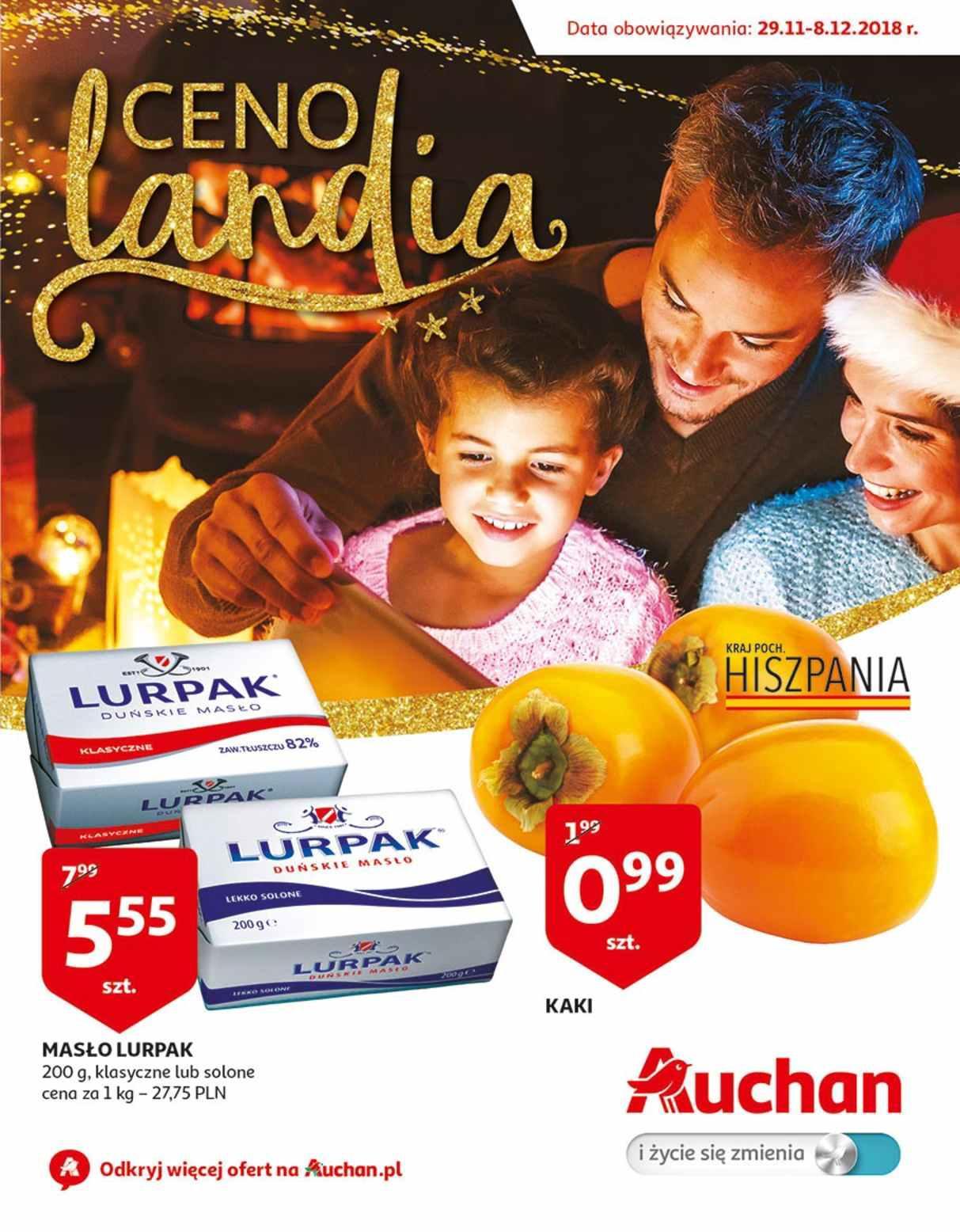 Gazetka promocyjna Auchan do 09/12/2018 str.1