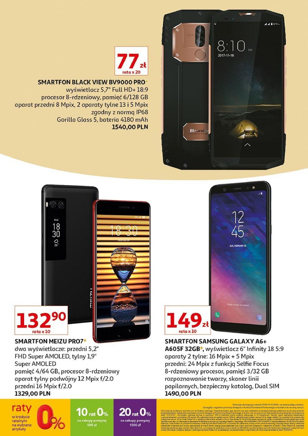 Gazetka promocyjna Auchan do 13/10/2018 str.15