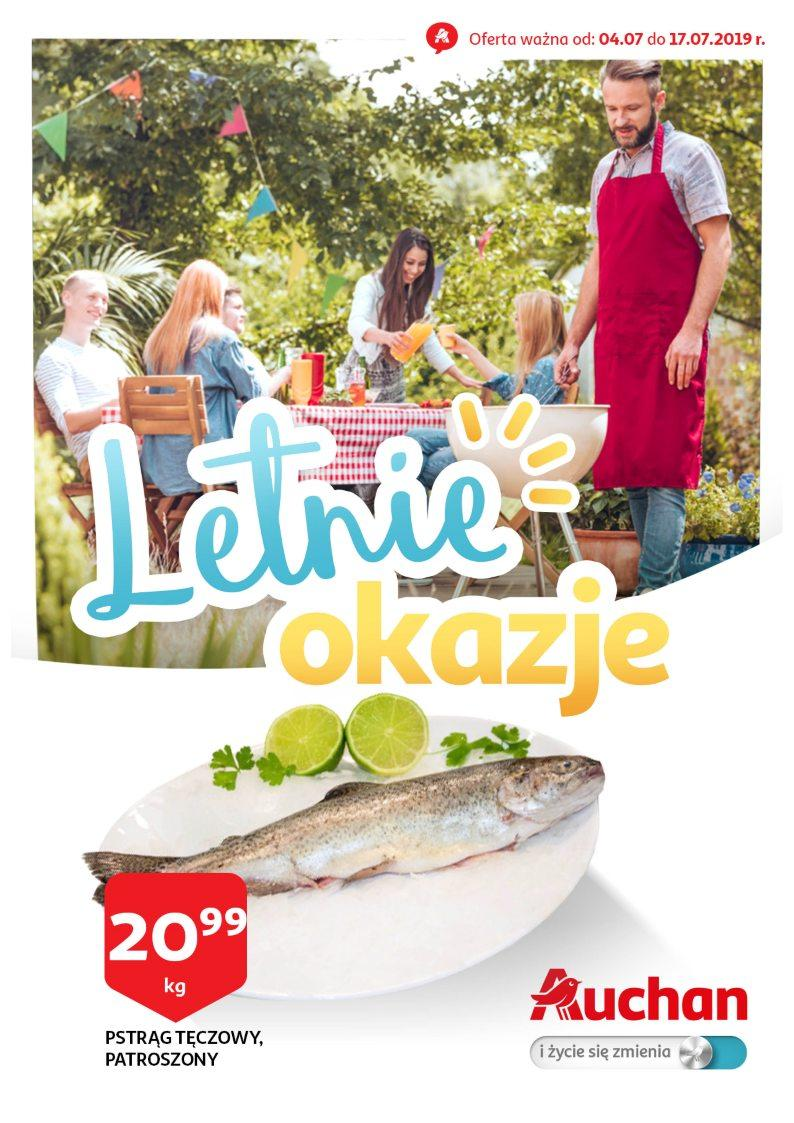 Gazetka promocyjna Auchan do 17/07/2019 str.1