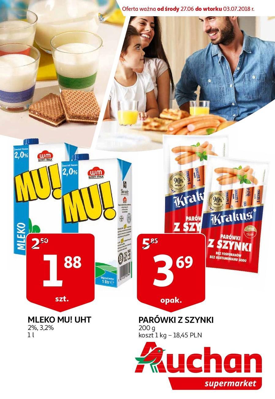 Gazetka promocyjna Auchan do 03/07/2018 str.0