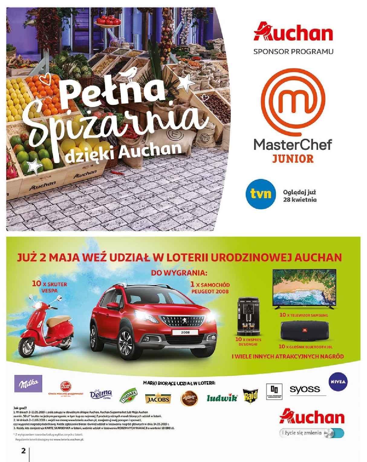 Gazetka promocyjna Auchan do 06/05/2019 str.1
