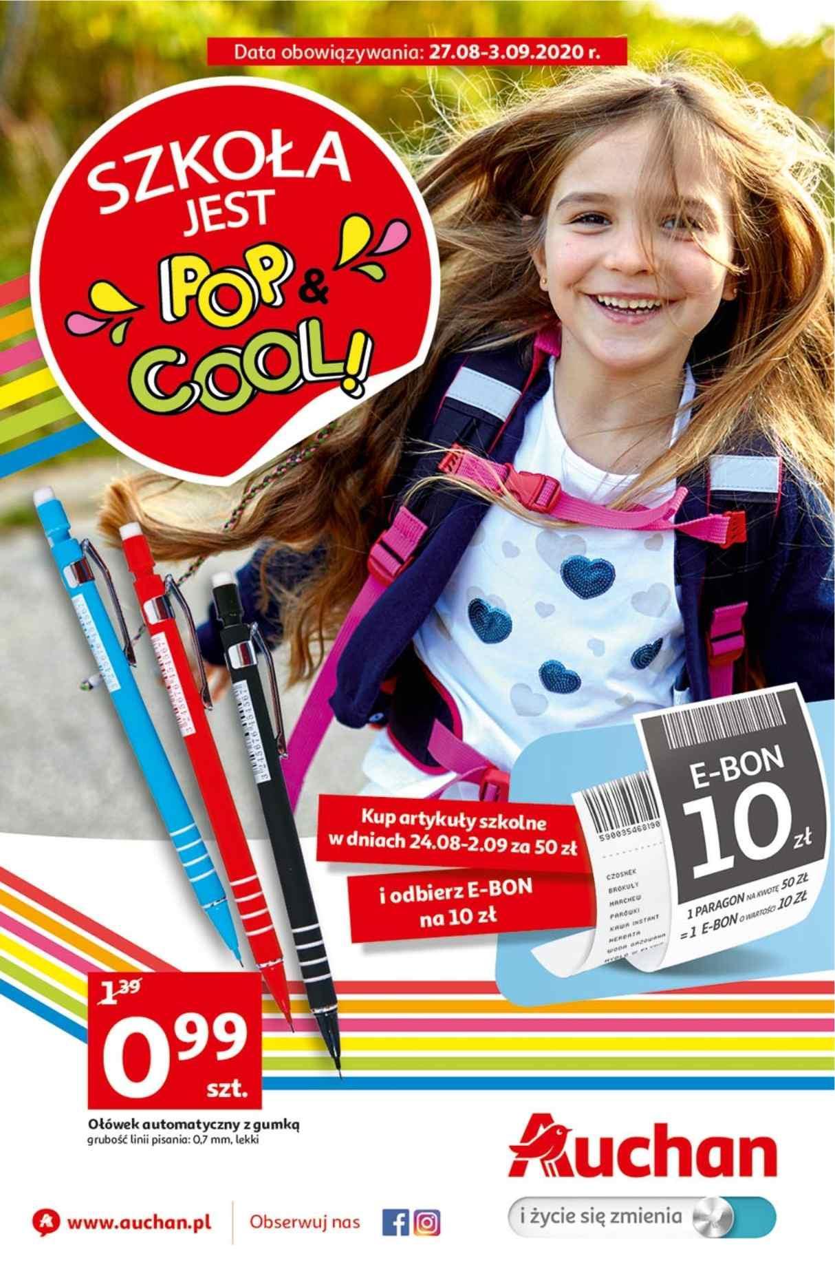 Gazetka promocyjna Auchan do 03/09/2020 str.1