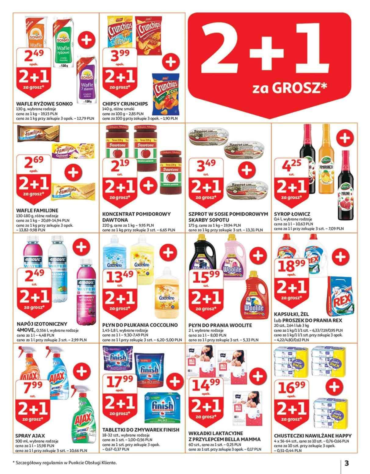 Gazetka promocyjna Auchan do 17/10/2018 str.3