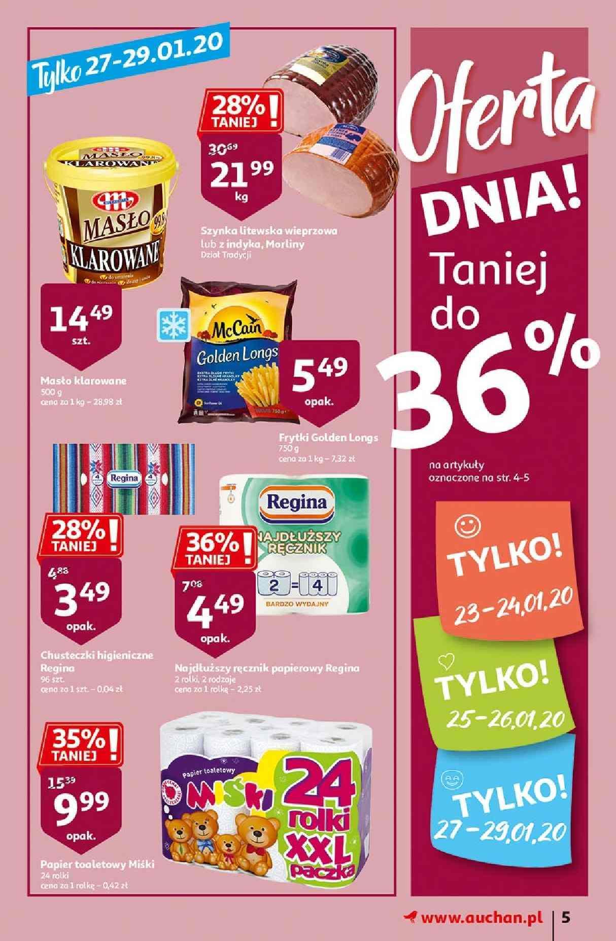 Gazetka promocyjna Auchan do 29/01/2020 str.5