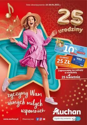 Auchan gazetka  - od 22/04/2021 do 28/04/2021