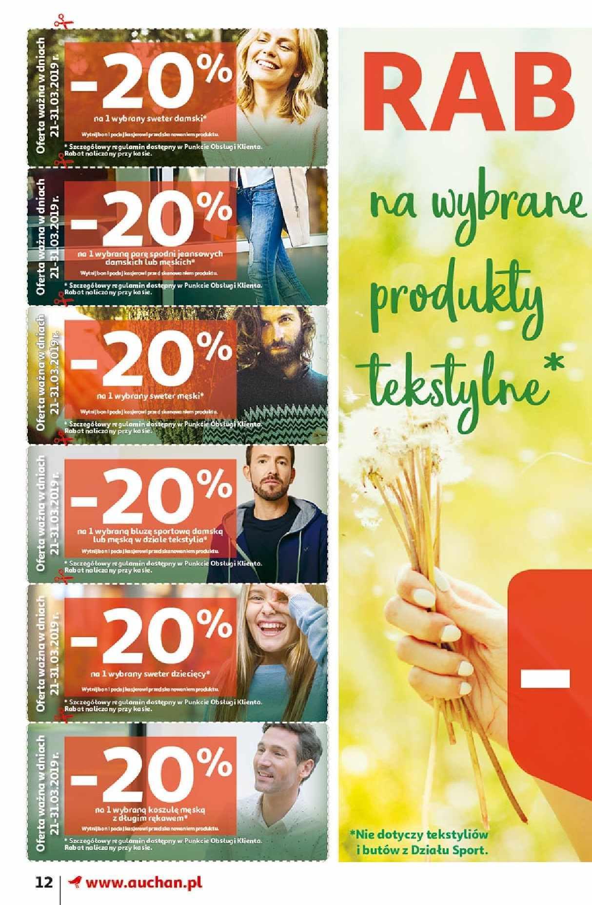 Gazetka promocyjna Auchan do 31/03/2019 str.11
