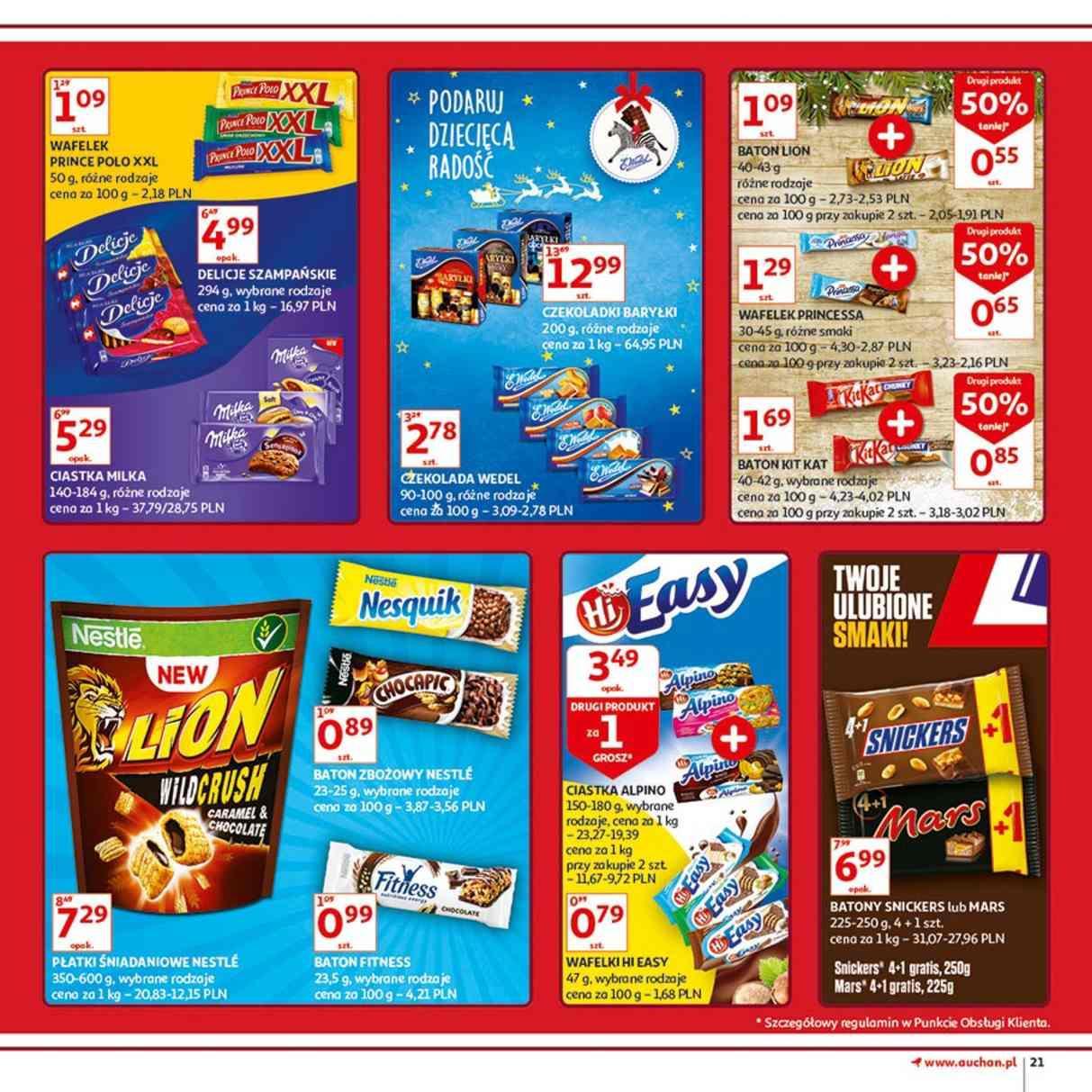 Gazetka promocyjna Auchan do 12/12/2018 str.21