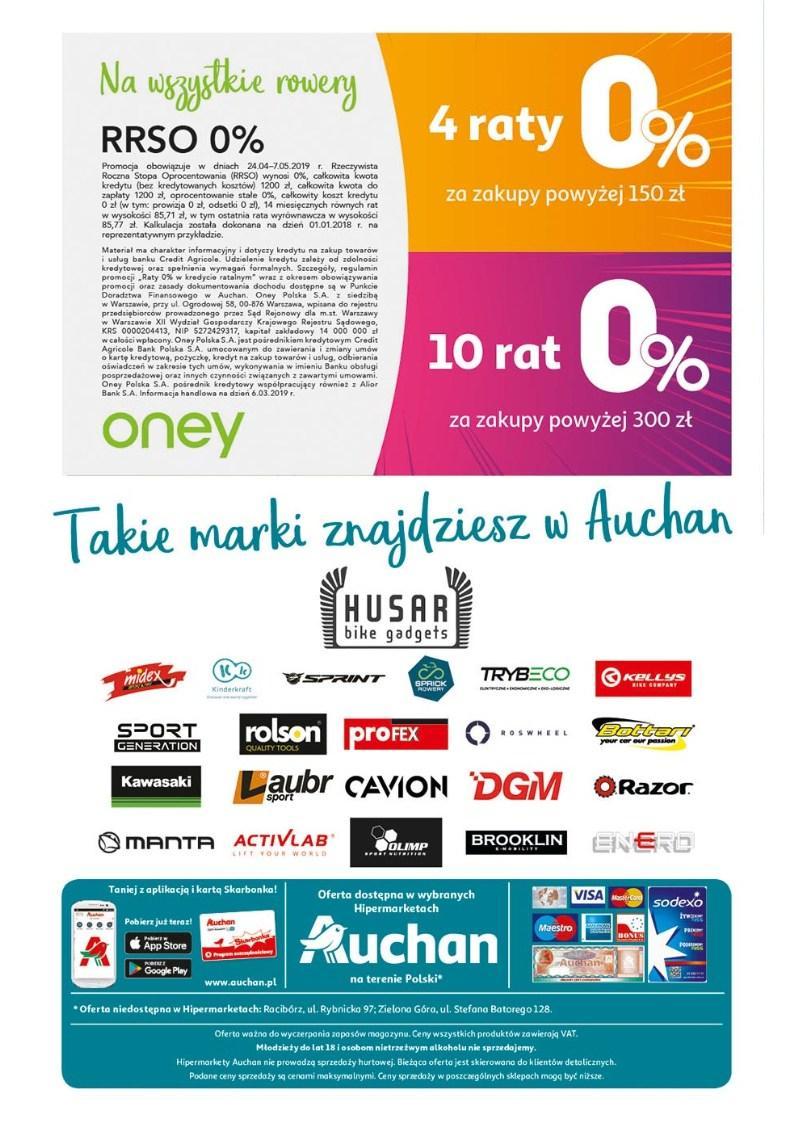 Gazetka promocyjna Auchan do 07/05/2019 str.31