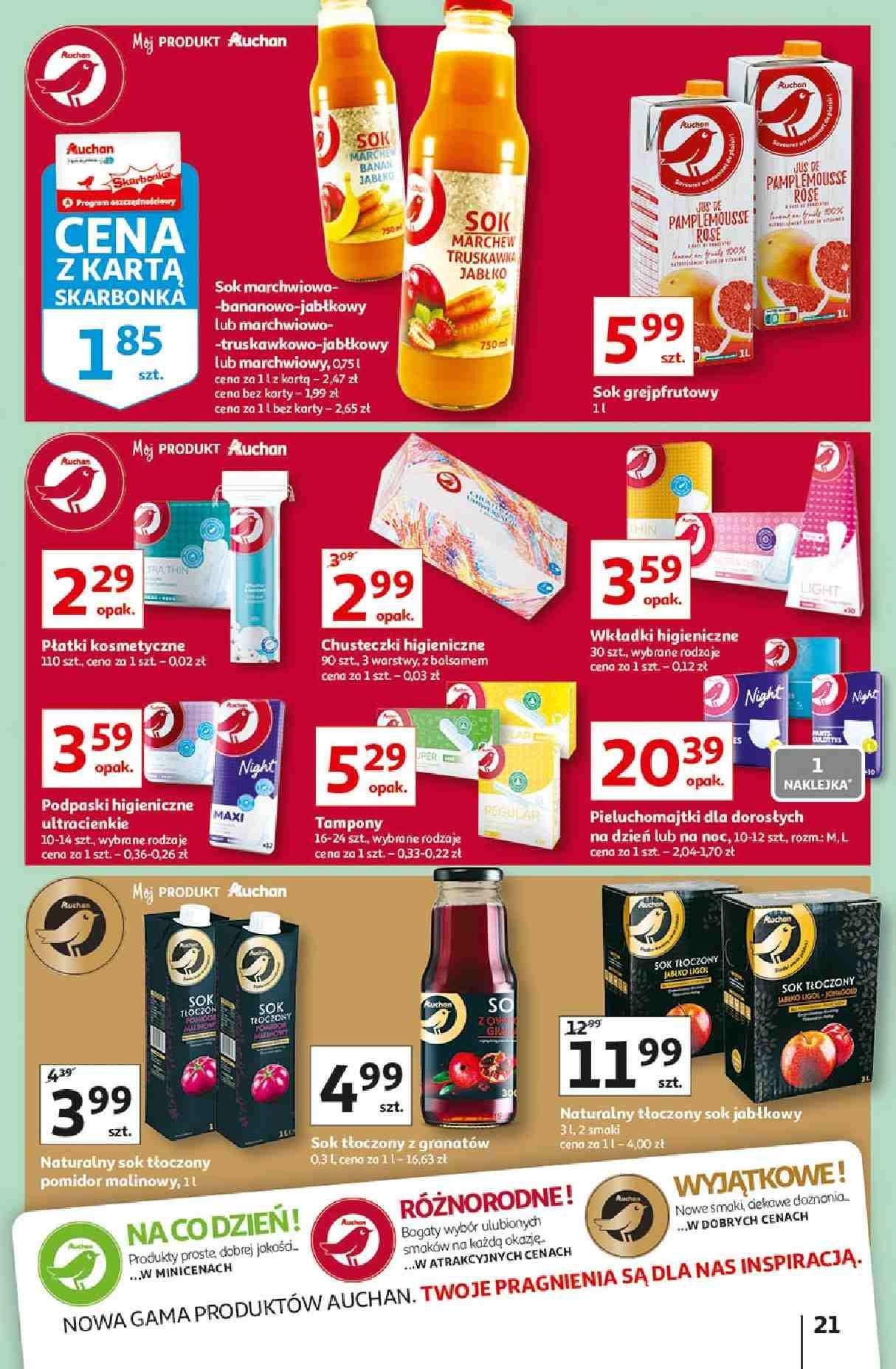 Gazetka promocyjna Auchan do 30/09/2020 str.20