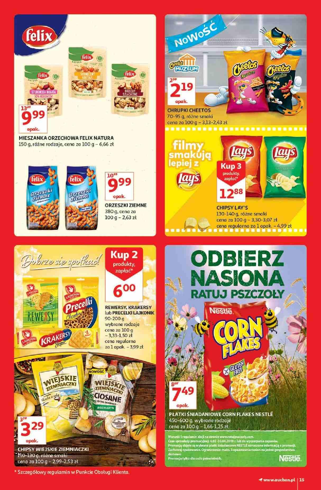 Gazetka promocyjna Auchan do 13/03/2019 str.15