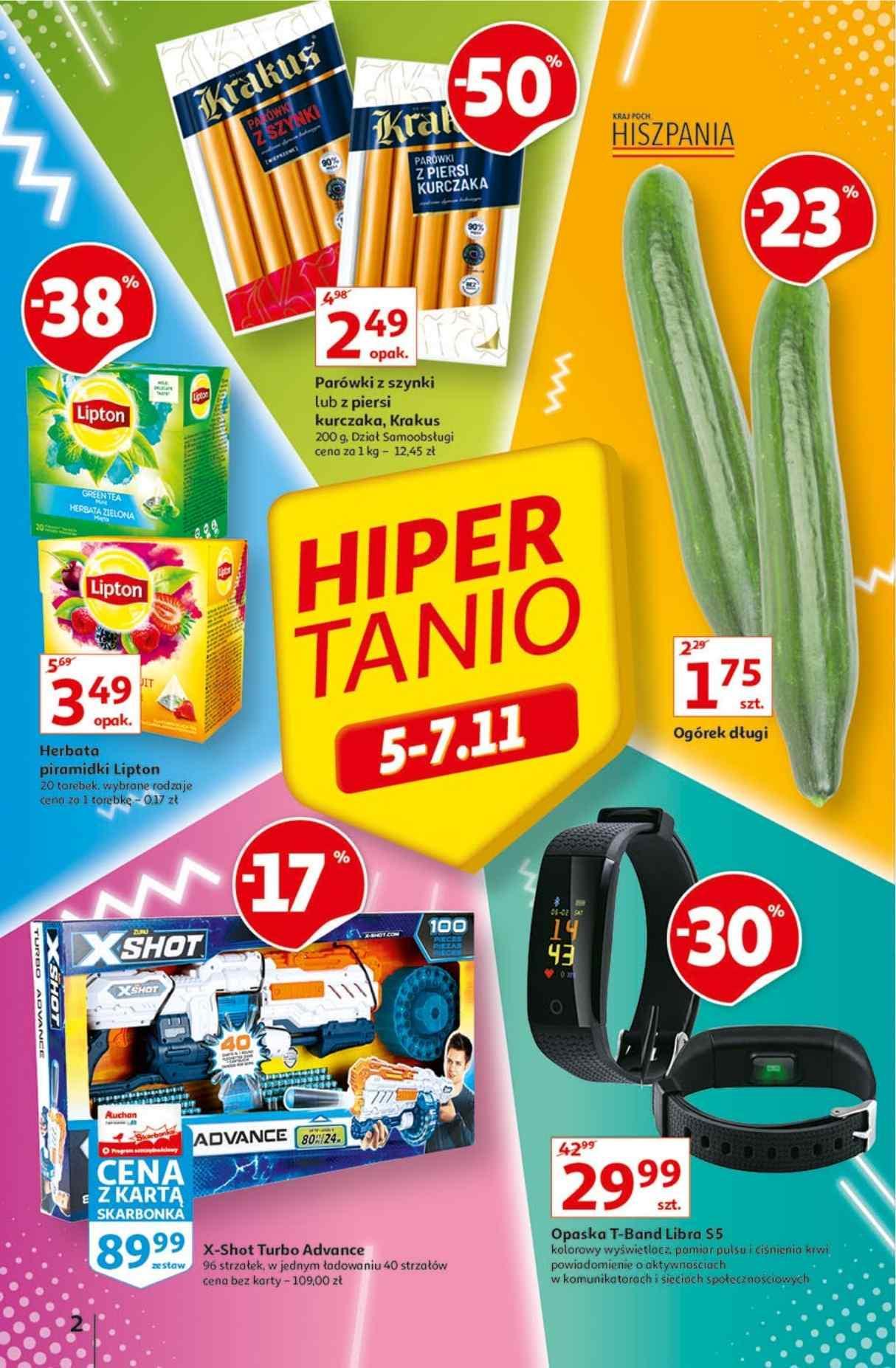 Gazetka promocyjna Auchan do 10/11/2020 str.1