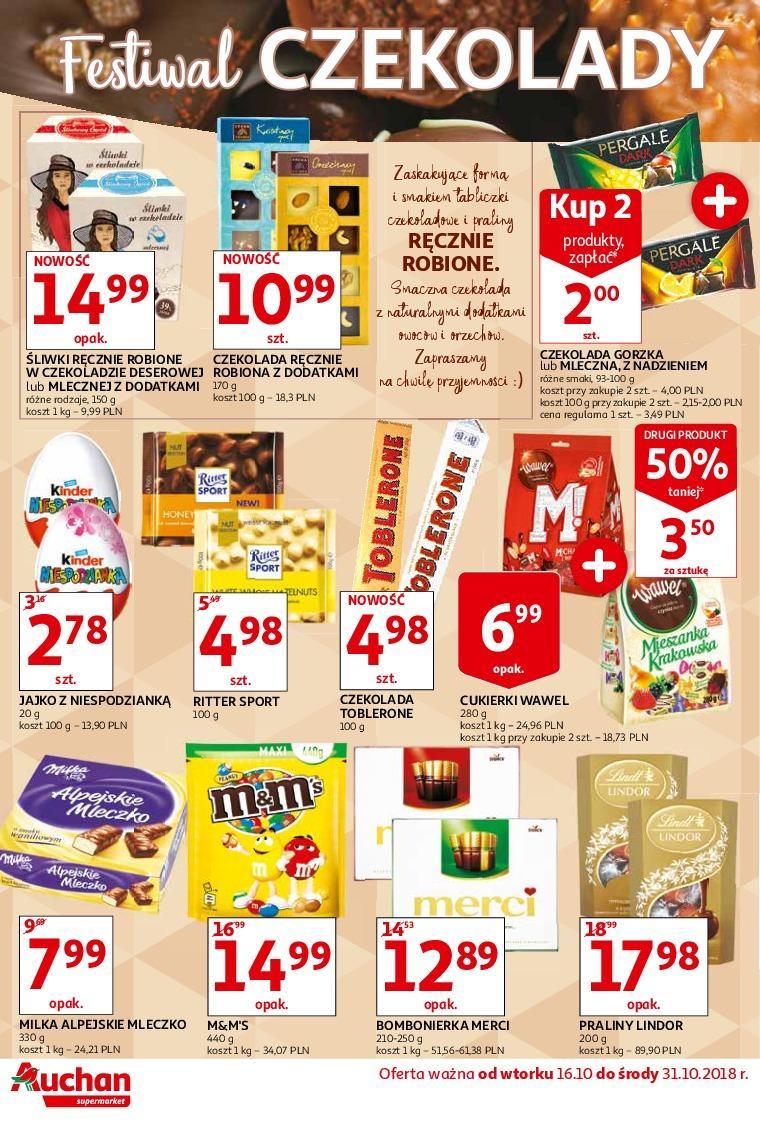 Gazetka promocyjna Auchan do 31/10/2018 str.1