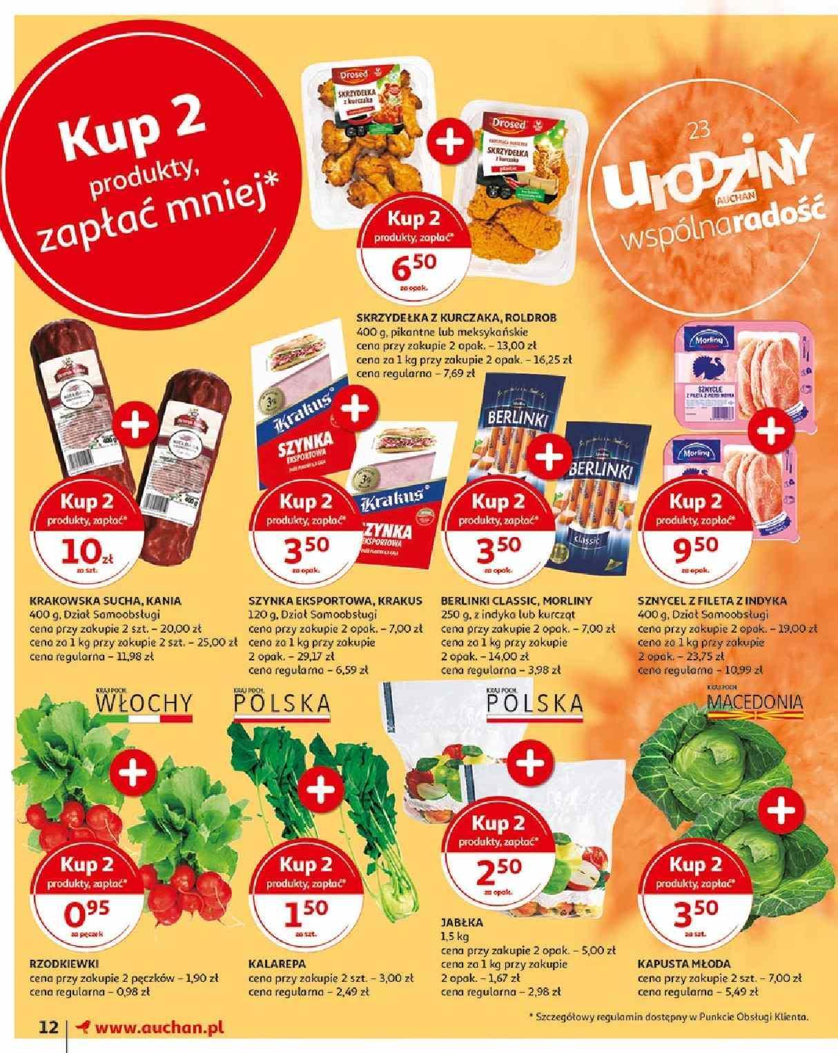 Gazetka promocyjna Auchan do 15/05/2019 str.12
