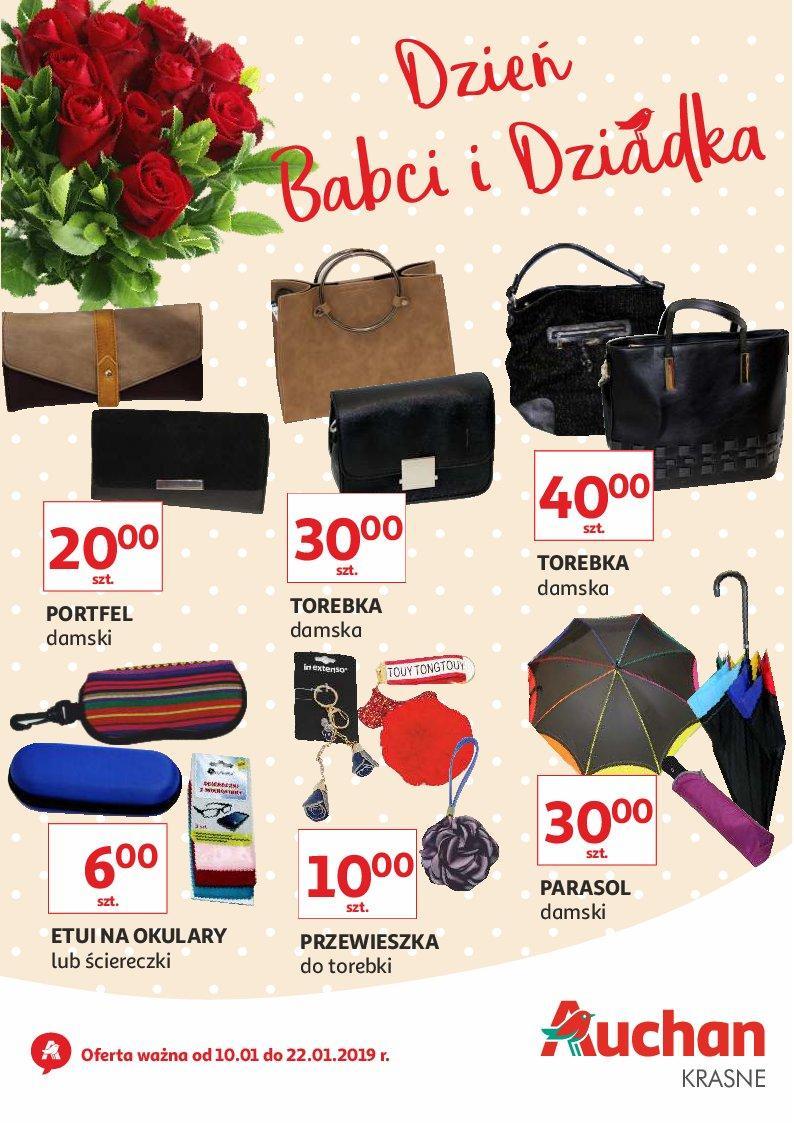Gazetka promocyjna Auchan do 22/01/2019 str.1