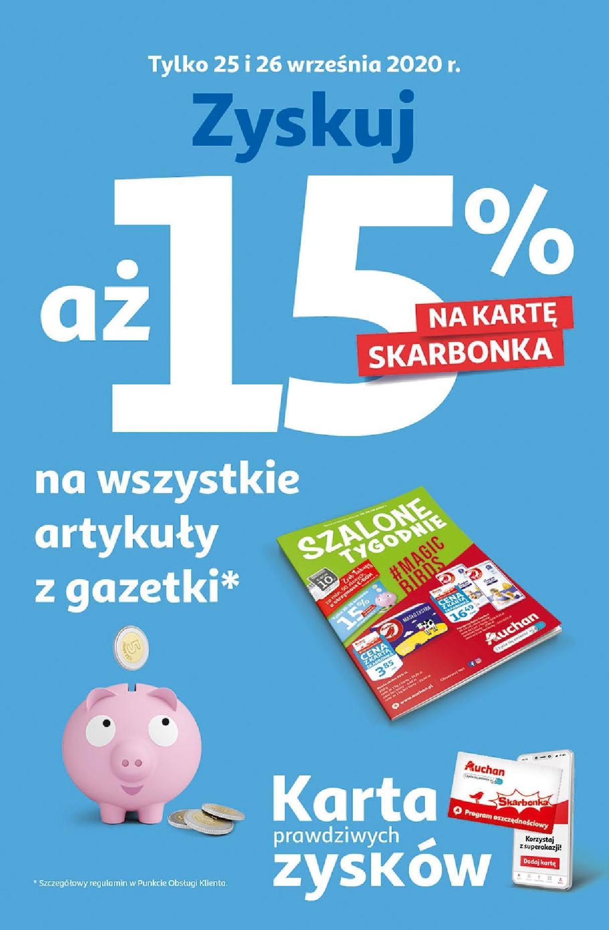 Gazetka promocyjna Auchan do 30/09/2020 str.2