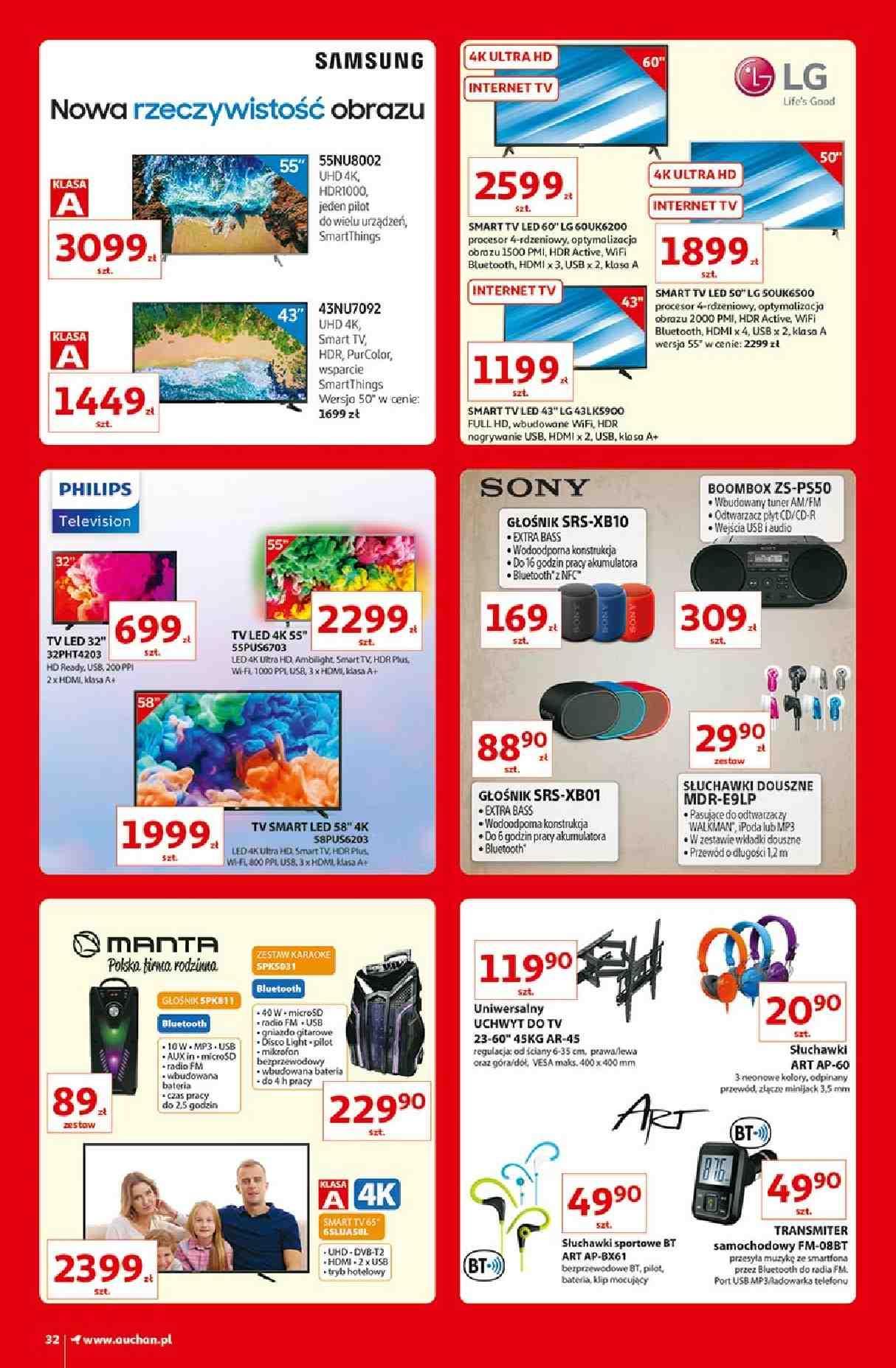 Gazetka promocyjna Auchan do 13/03/2019 str.32