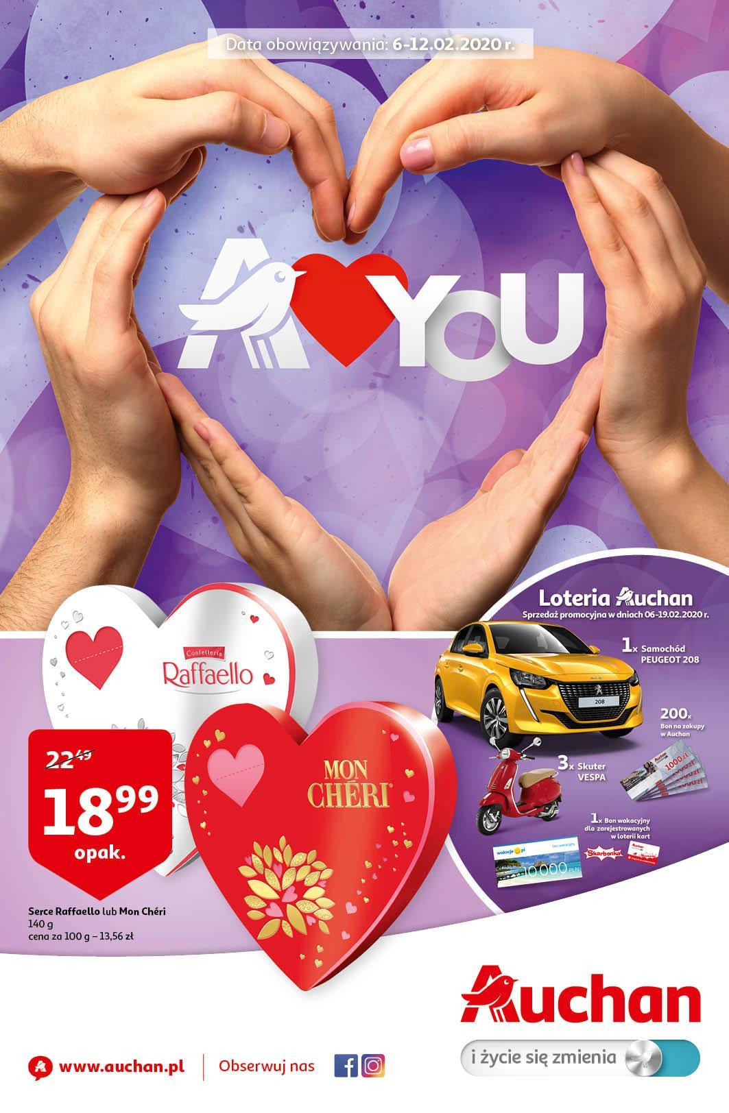 Gazetka promocyjna Auchan do 12/02/2020 str.0