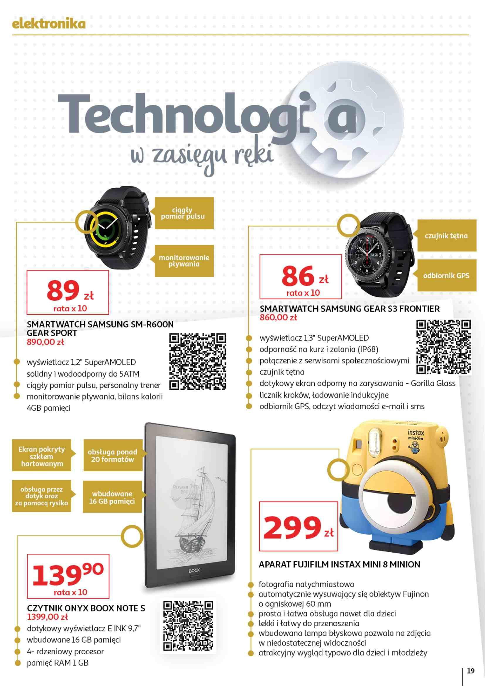 Gazetka promocyjna Auchan do 15/05/2019 str.19