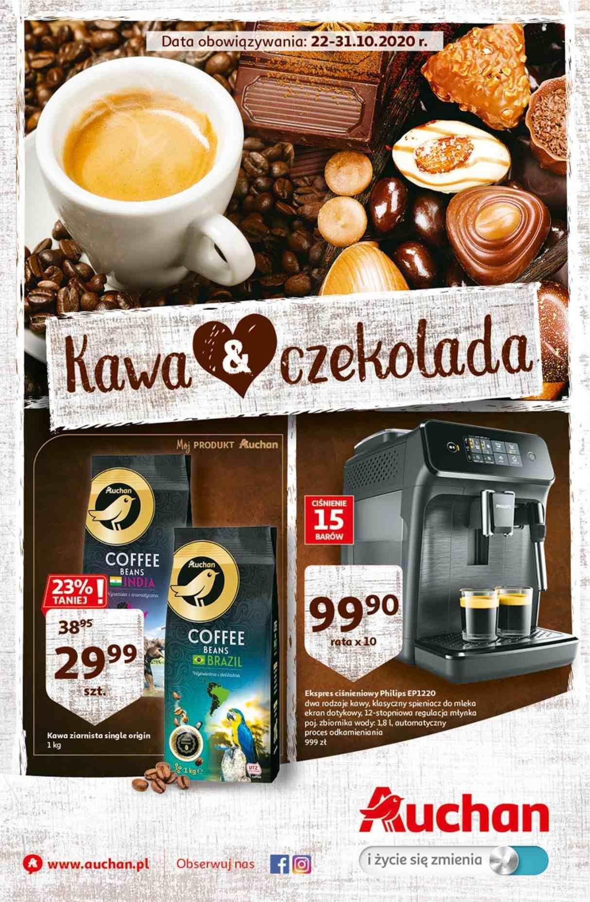Gazetka promocyjna Auchan do 31/10/2020 str.1