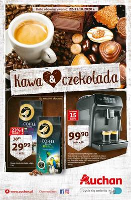 Auchan gazetka  - od 22/10/2020 do 31/10/2020