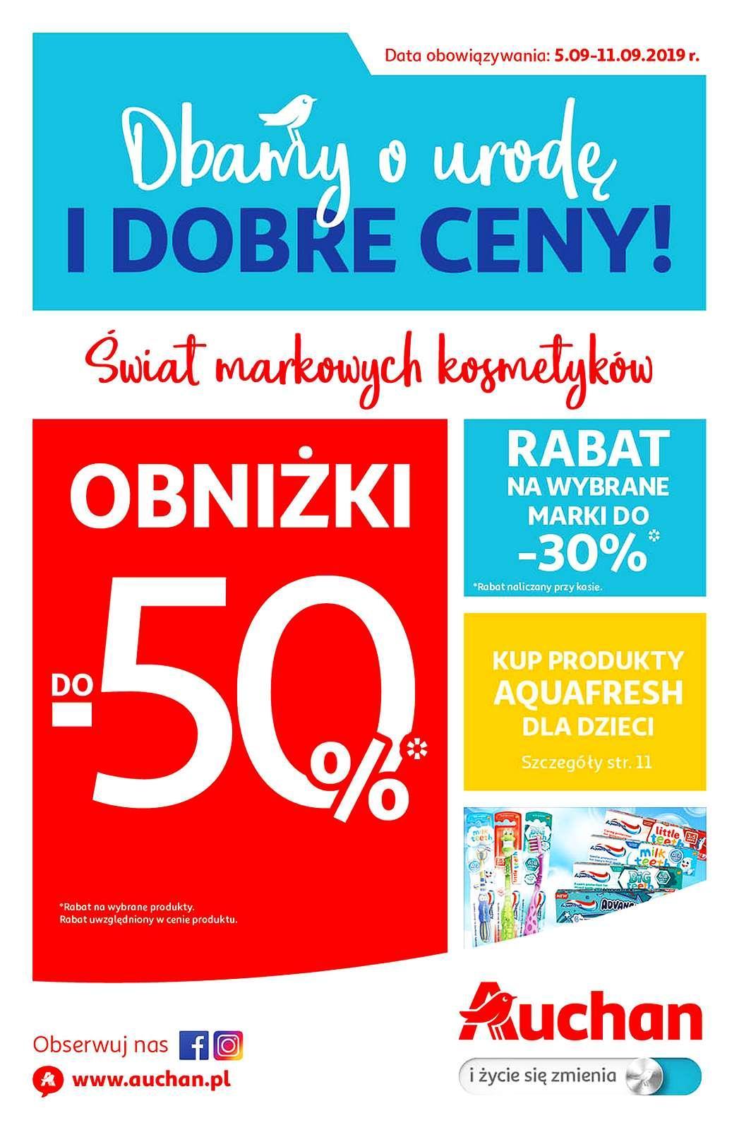 Gazetka promocyjna Auchan do 11/09/2019 str.1