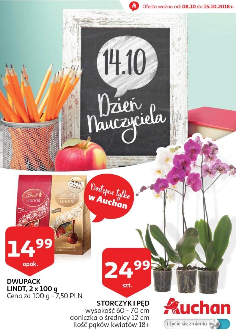 Gazetka promocyjna Auchan do 15/10/2018 str.0