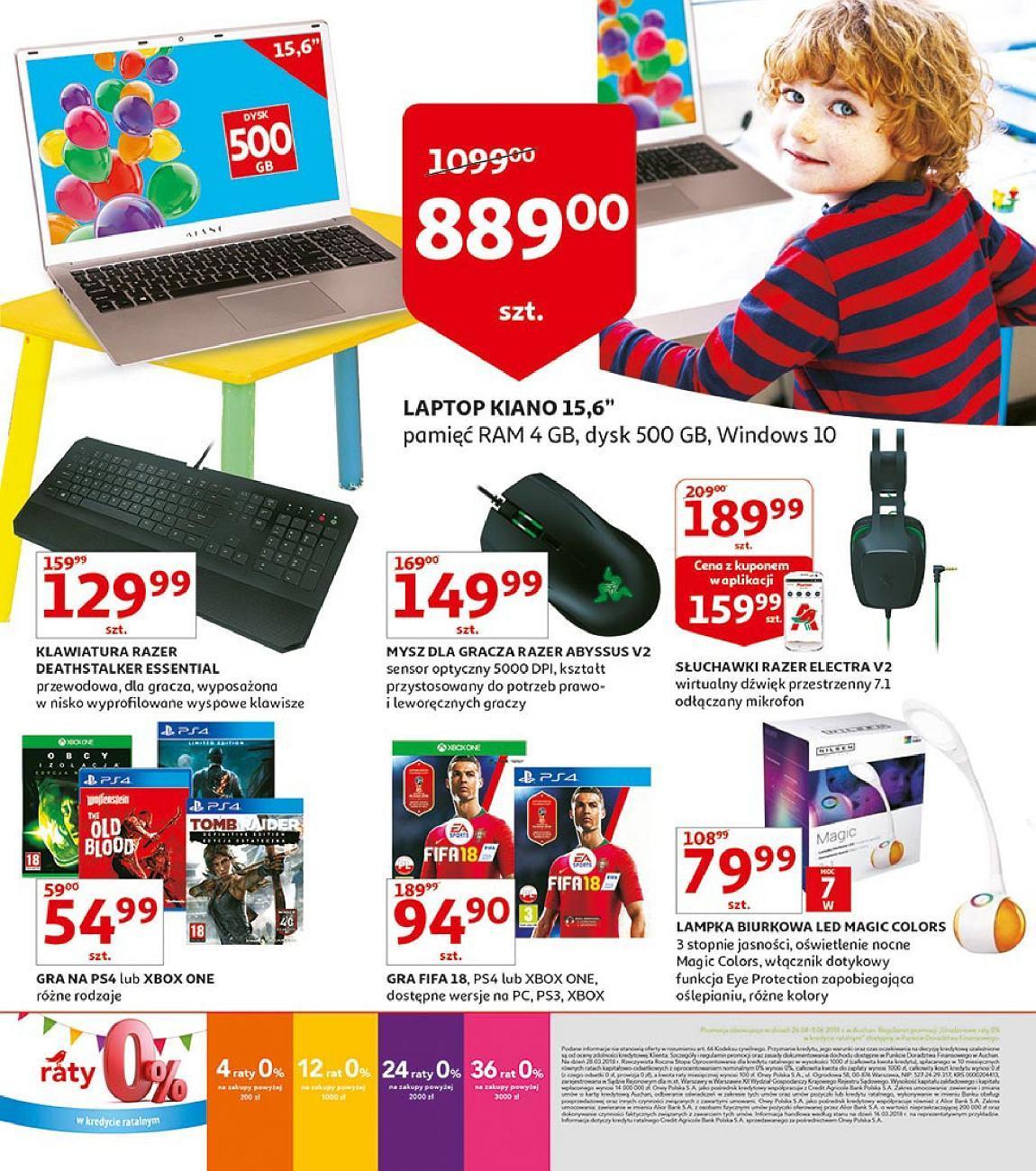 Gazetka promocyjna Auchan do 03/06/2018 str.18