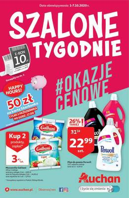 Auchan gazetka - od 01/10/2020 do 07/10/2020