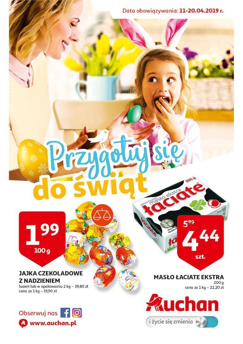 Gazetka promocyjna Auchan do 20/04/2019 str.0