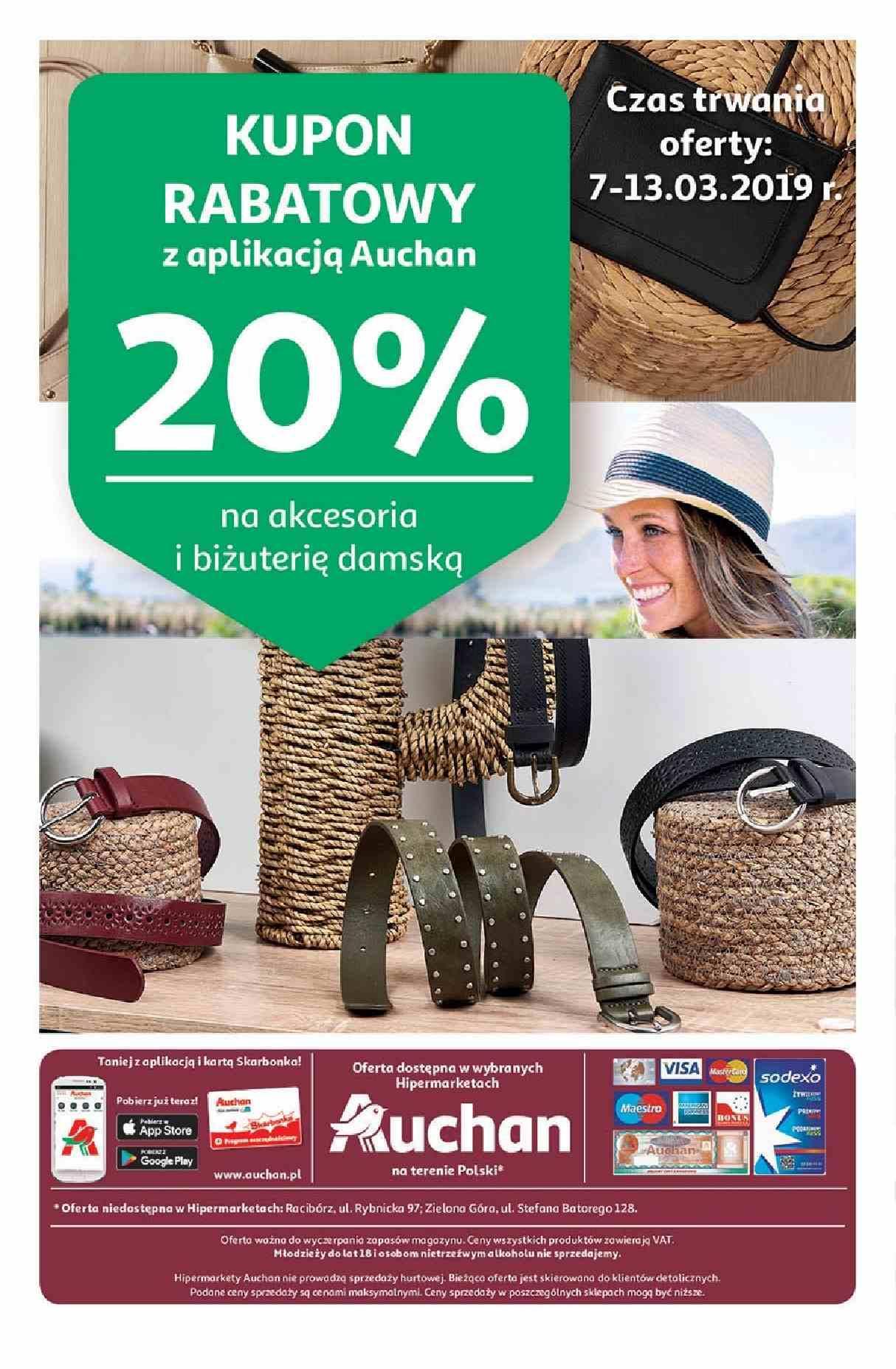 Gazetka promocyjna Auchan do 14/03/2019 str.16