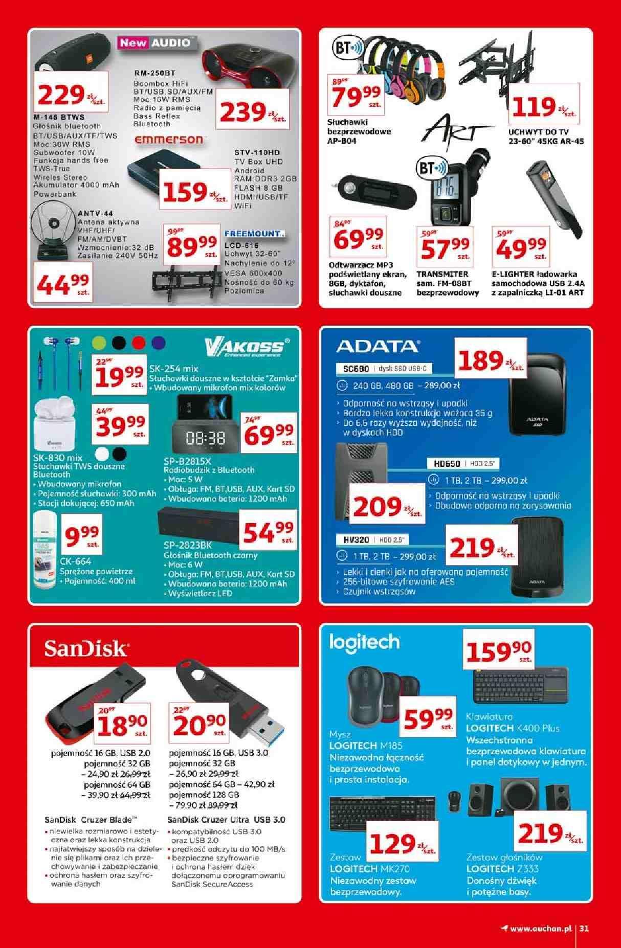 Gazetka promocyjna Auchan do 16/09/2020 str.30
