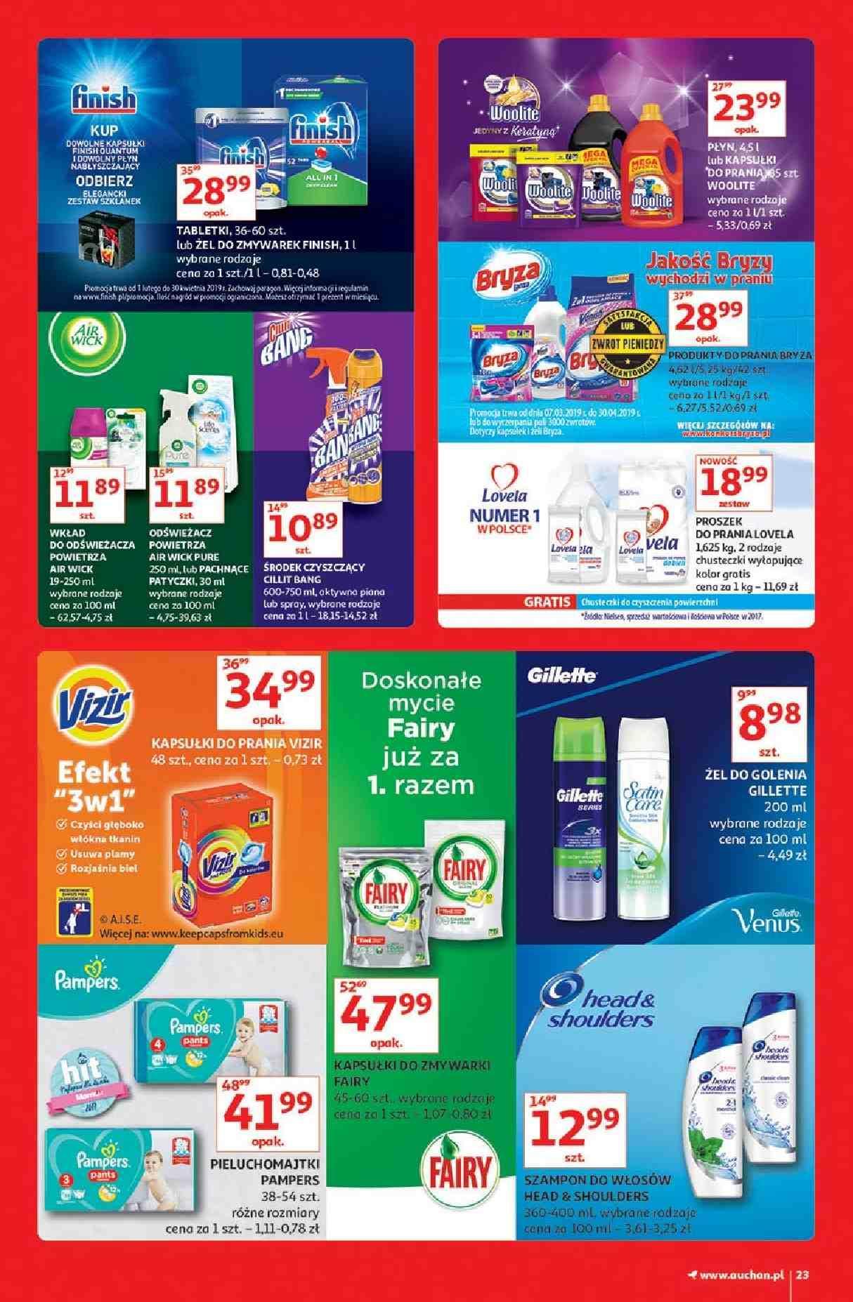 Gazetka promocyjna Auchan do 13/03/2019 str.23