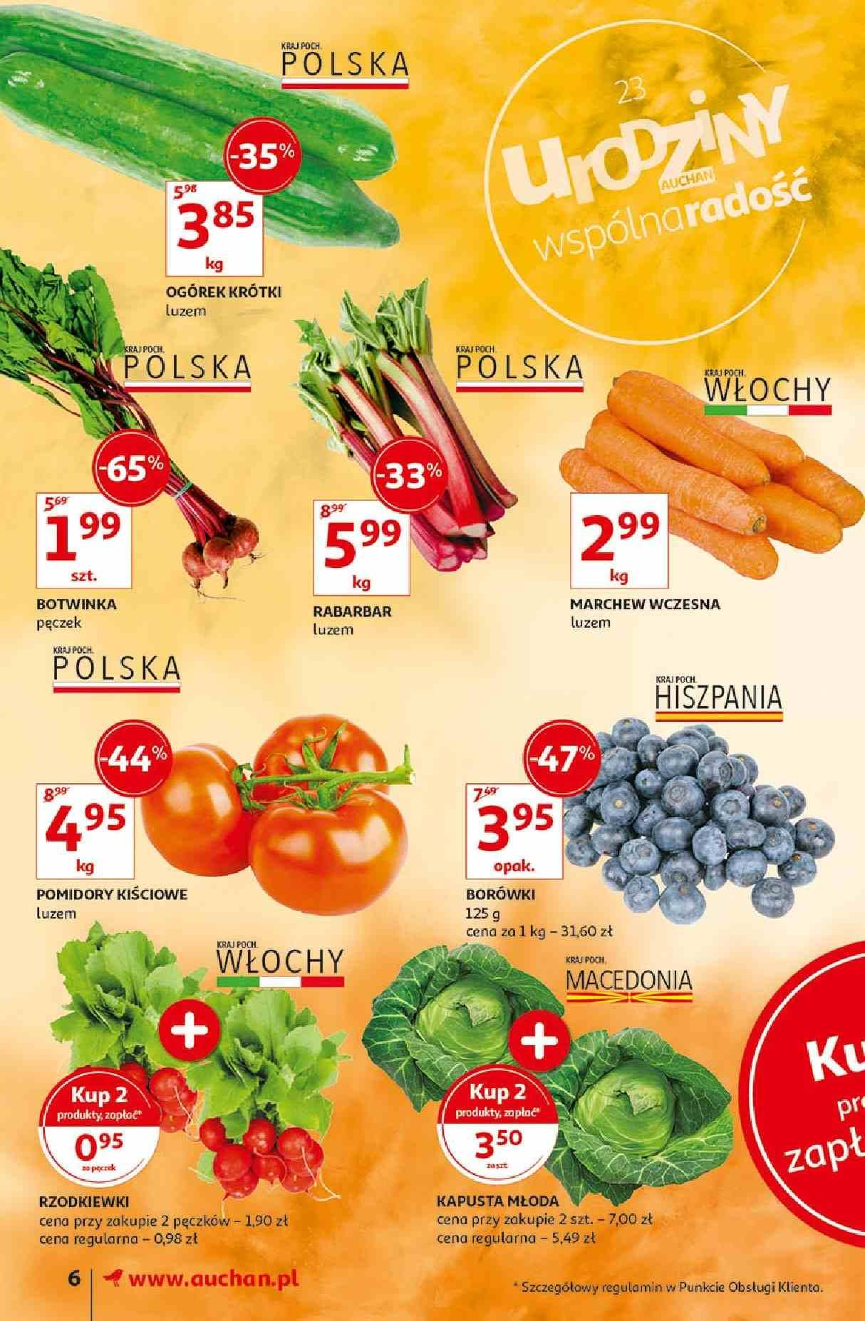 Gazetka promocyjna Auchan do 15/05/2019 str.6