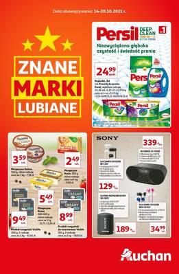 Auchan gazetka - od 14/10/2021 do 20/10/2021