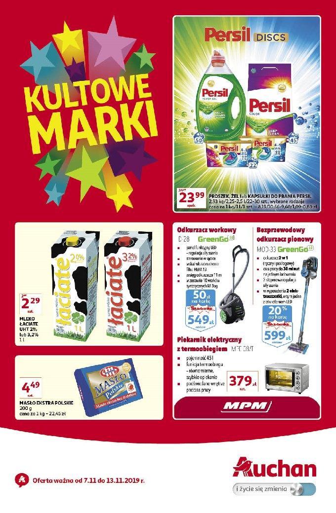 Gazetka promocyjna Auchan do 13/11/2019 str.1