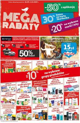 Auchan gazetka - od 26/09/2019 do 02/10/2019