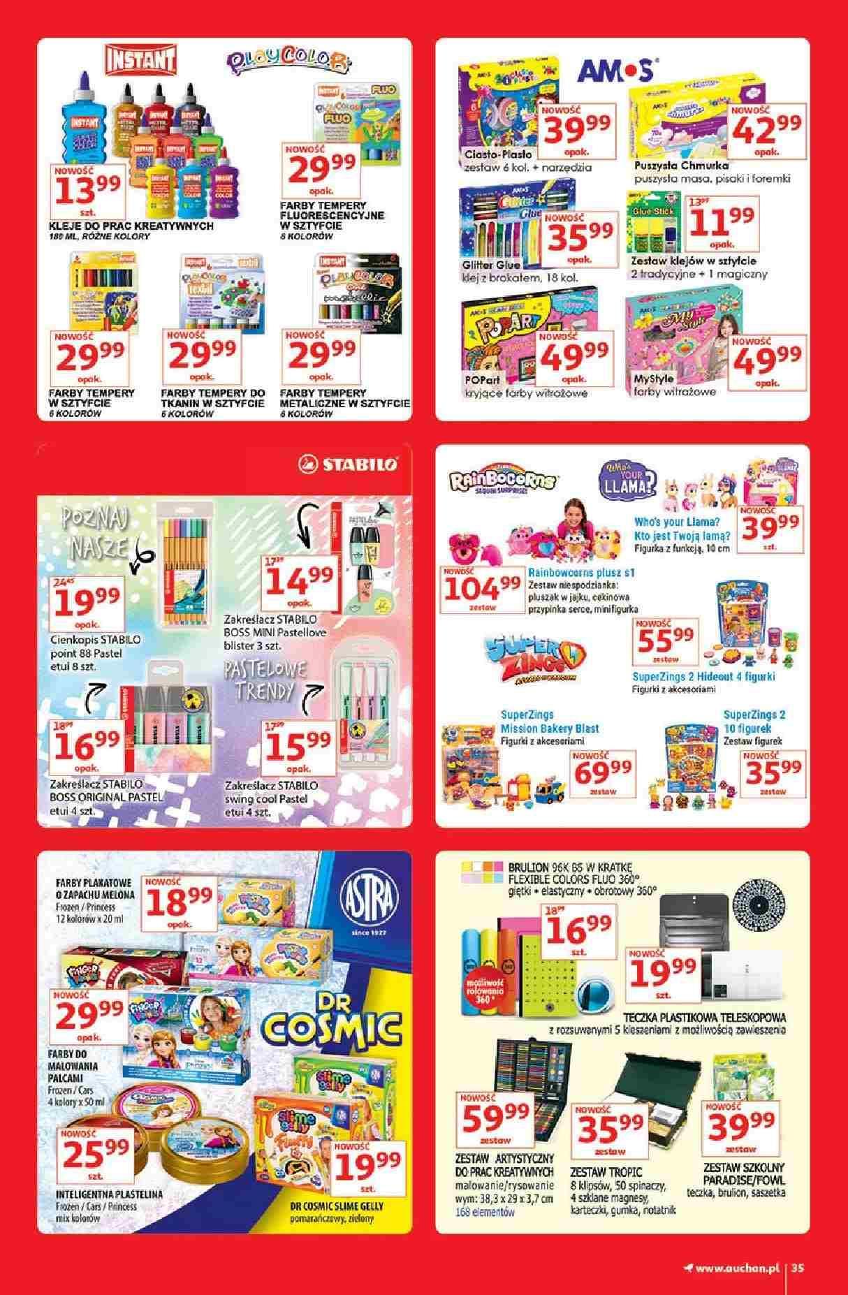 Gazetka promocyjna Auchan do 13/03/2019 str.35