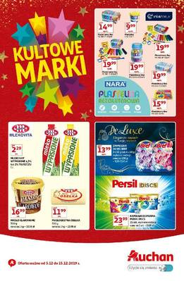 Auchan gazetka - od 05/12/2019 do 15/12/2019