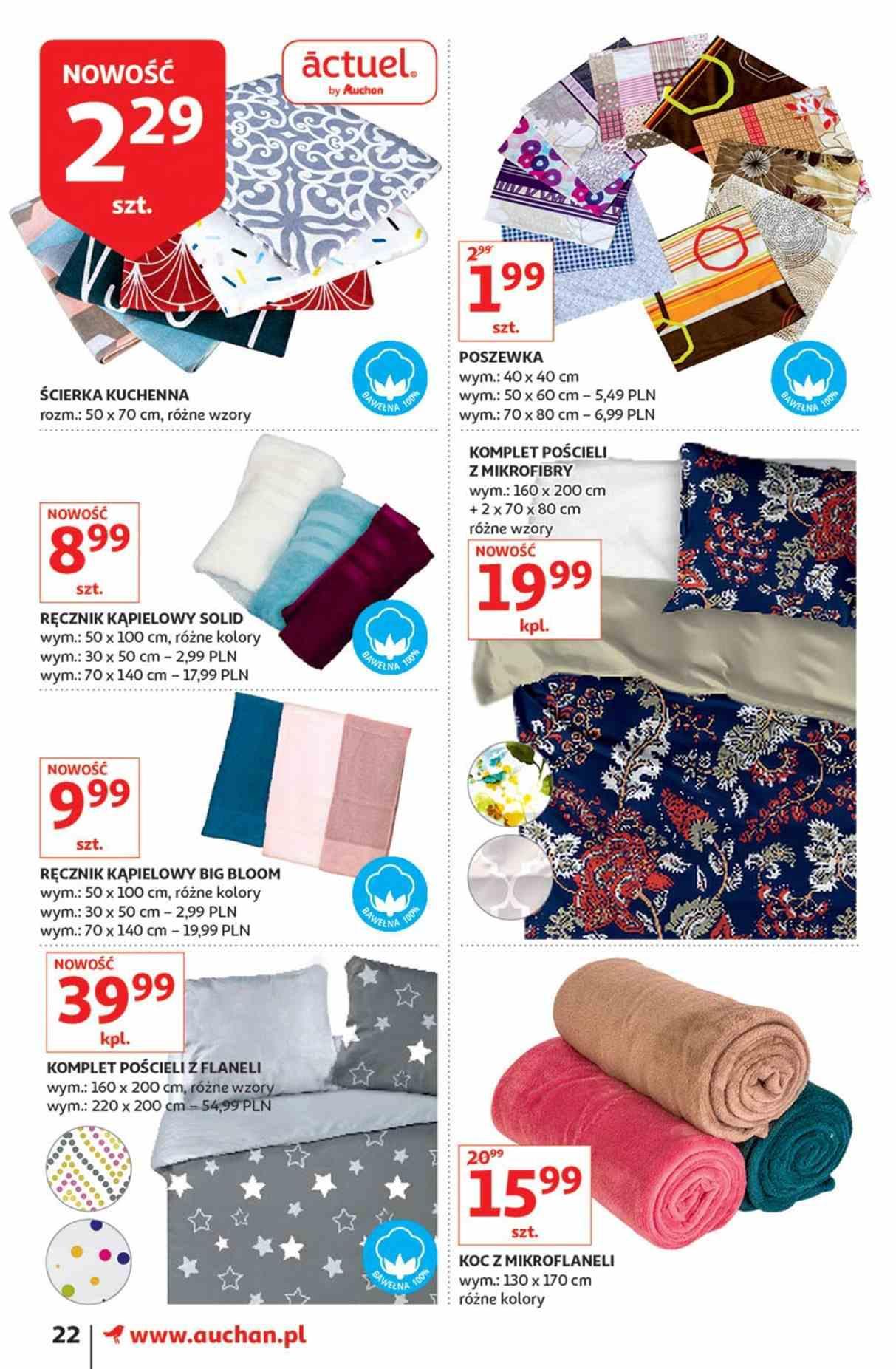 Gazetka promocyjna Auchan do 23/01/2019 str.22