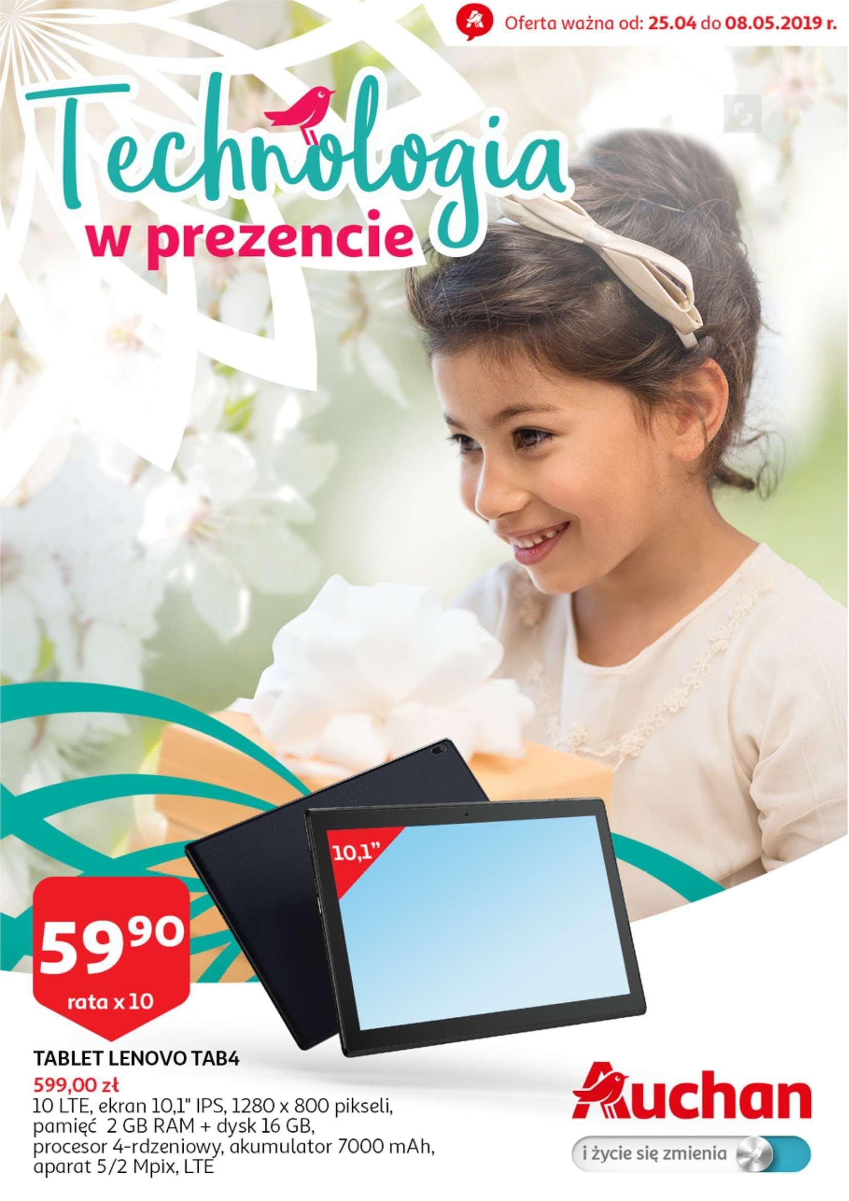 Gazetka promocyjna Auchan do 08/05/2019 str.0