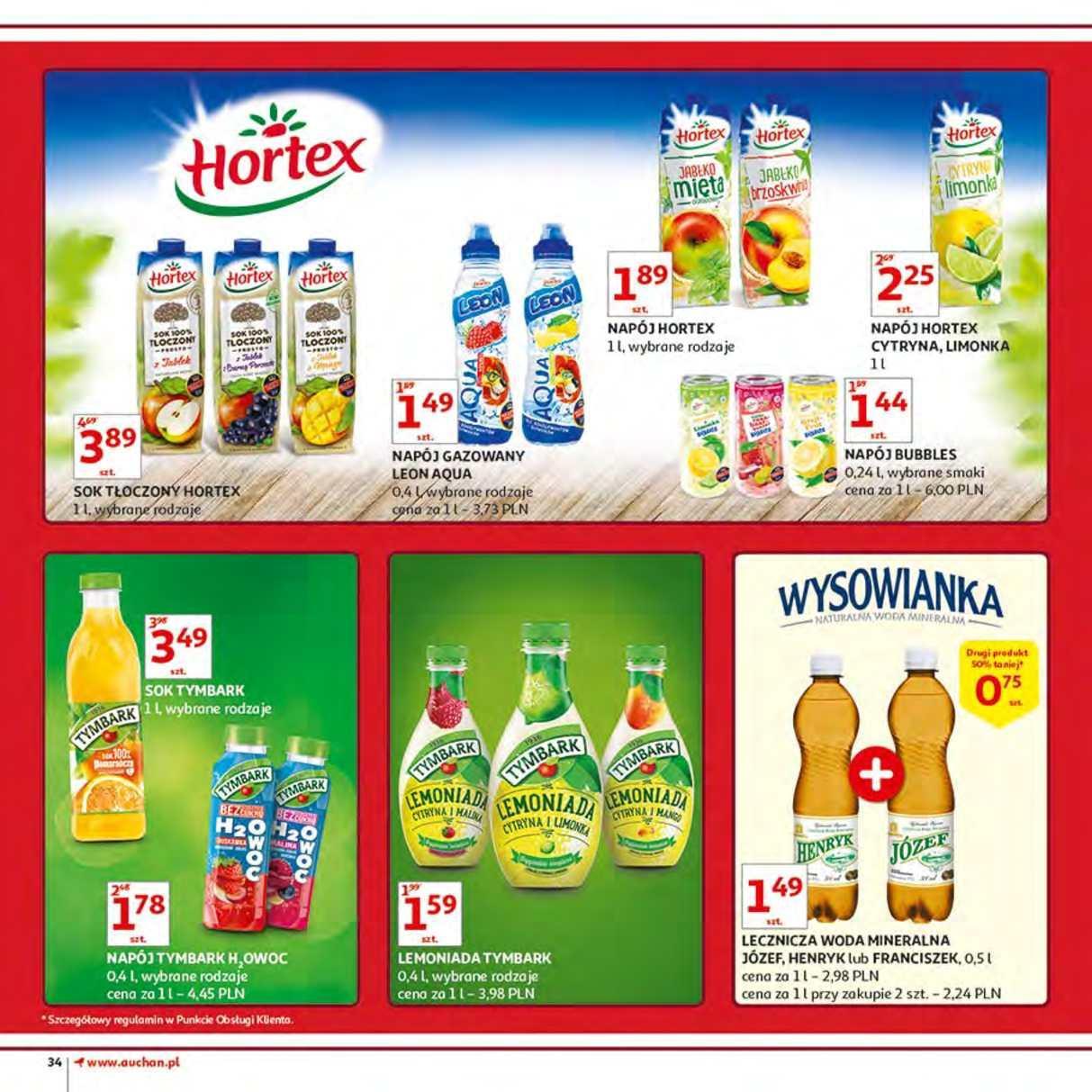Gazetka promocyjna Auchan do 12/06/2018 str.34